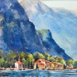 Foothills of Mt Tremezzo, Lake Como, Italy