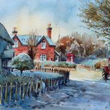 Blymhill Village, Staffordshire