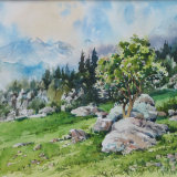 Vignemale view, Pyrenees