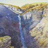 Frwd Fawr waterfall, Powys