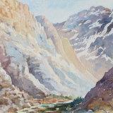Atlas mountain pass Morocco