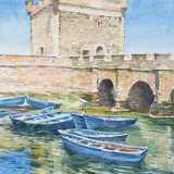 Old Portugese harbour, Essouira Morocco