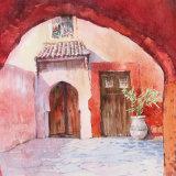Medina courtyard, Marrakesh
