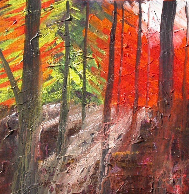 Autumn Trees No1