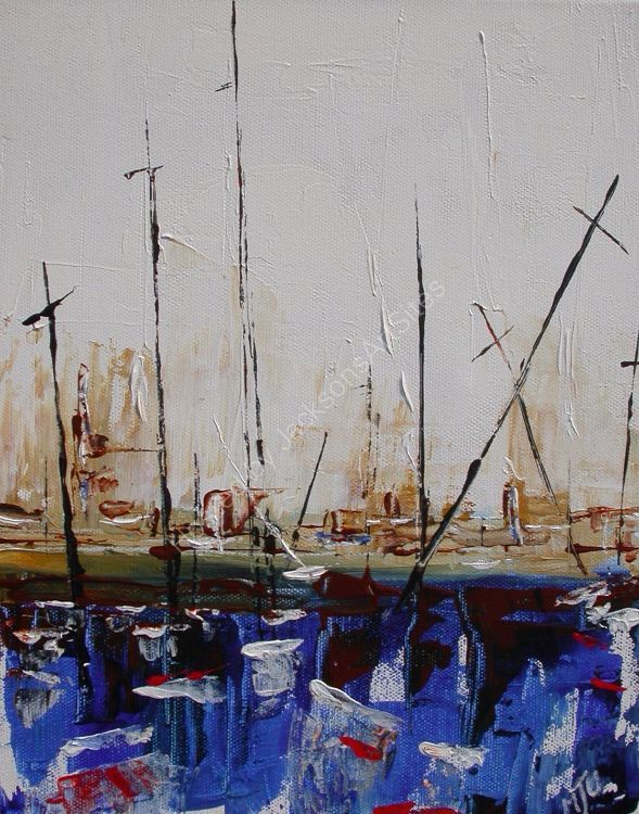Boats in the Harbour No1