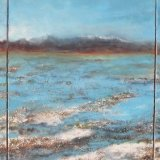 Bolvian Salt fields  Commissioned Triptych