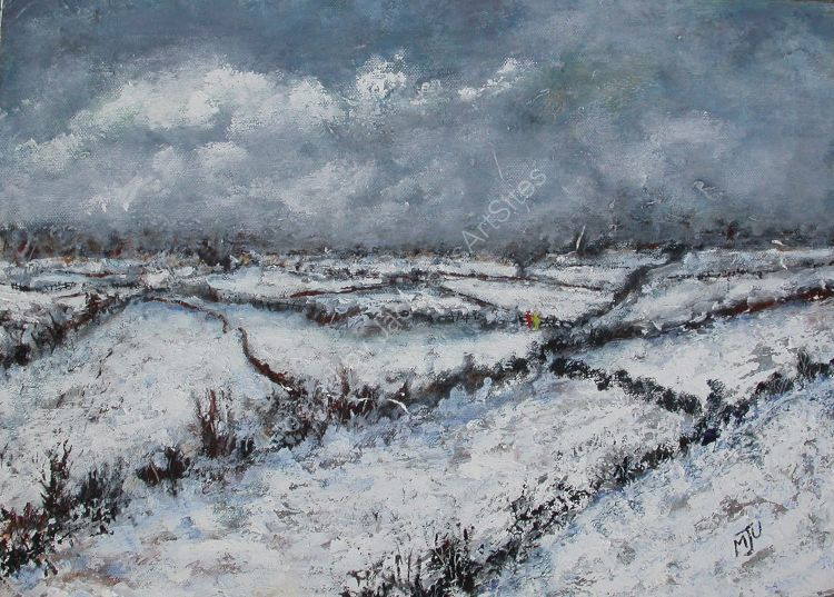 Fields in Winter SOLD