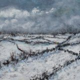 Fields in Winter SOLD