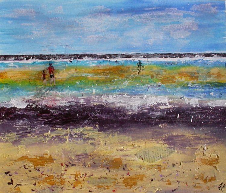 Figures- on  the  Beach