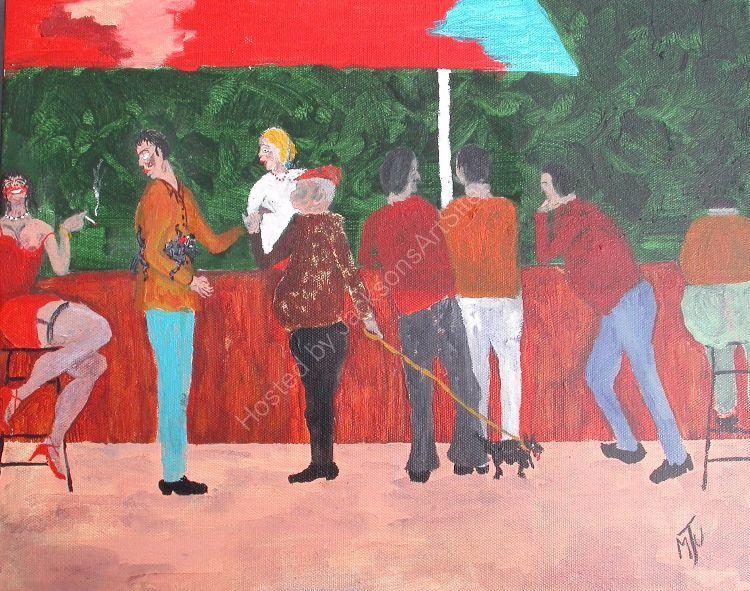 French Bar  Scene  1