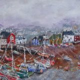 Gulls  Over  the  Harbour SOLD