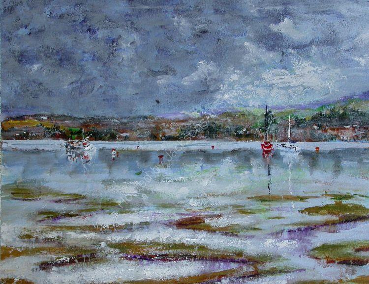 Moored- Boats at  Bosham