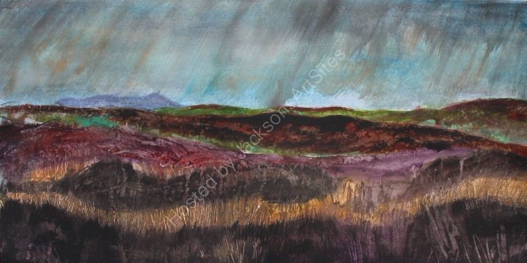 On top of the Long Mynd Shropshire  SOLD