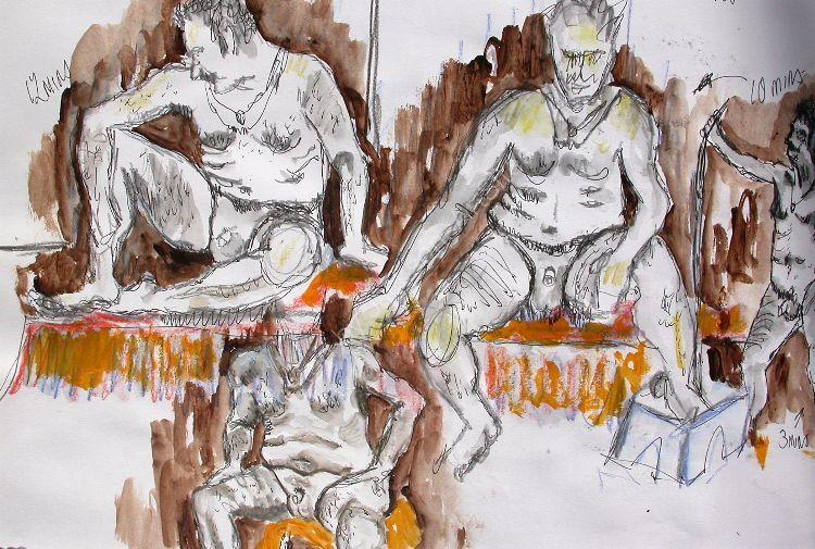 Short life & portrait sketches (26)