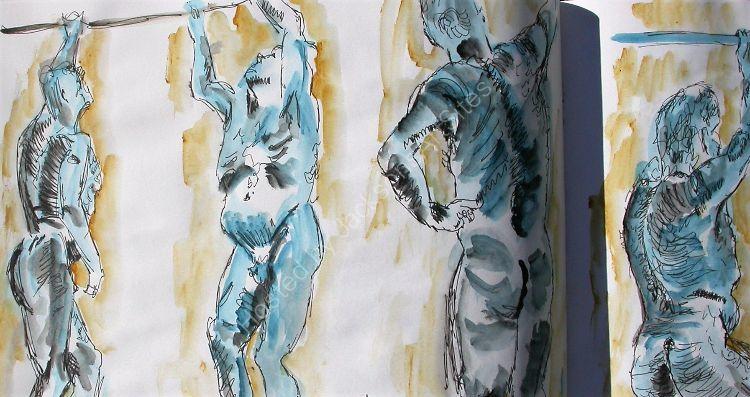 Short life & portrait sketches (39)