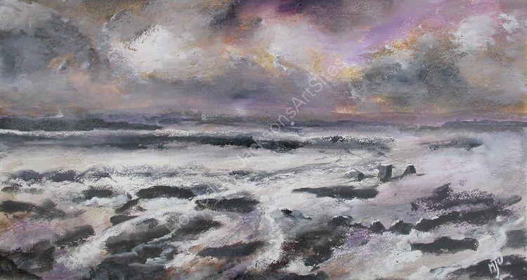 Storm  Over  the  Wreck - Appledore