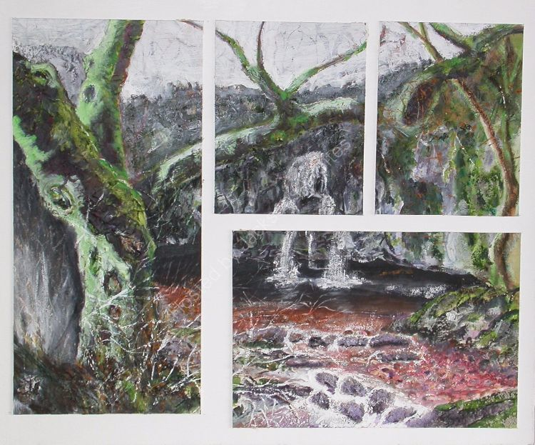 Waterfall Yorkshire  SOLD