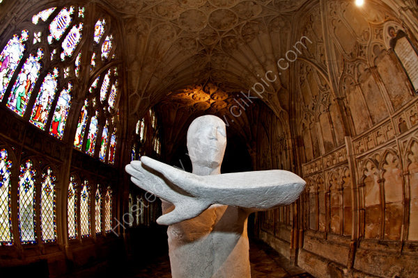 Statue in Cathedral