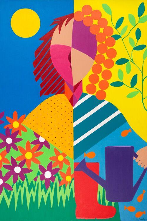 Garden Days Limited Edition Fine Art Giclee Print