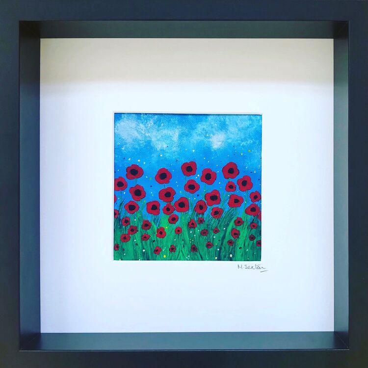 Miniature Poppies II