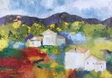 """""""Fields of Provence""""  card"""