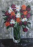 """""""Flowers in Vase"""" card"""