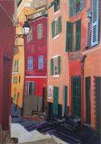 """Streets of Nice I"" card"