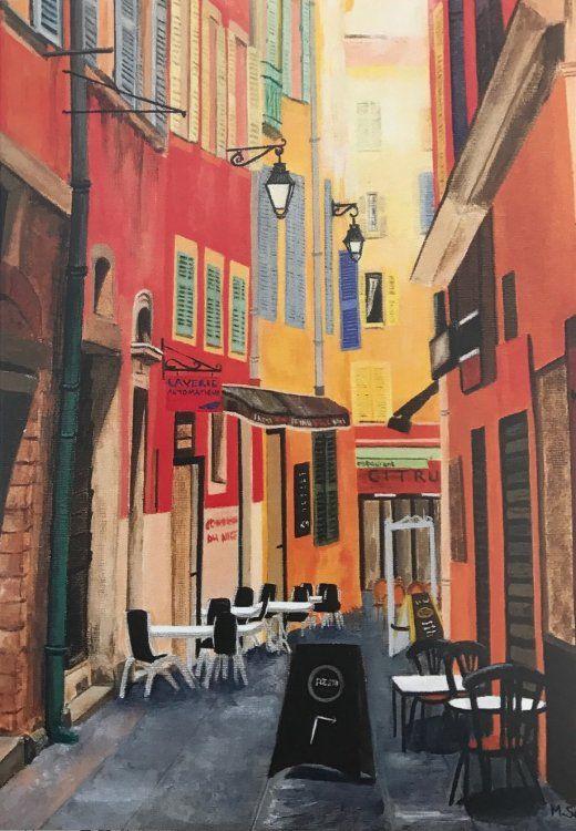 """Streets of Nice II"" Cards"