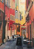 """Streets of Nice II"" card"