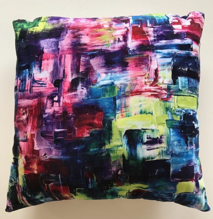 """Hectic"" Cushion"
