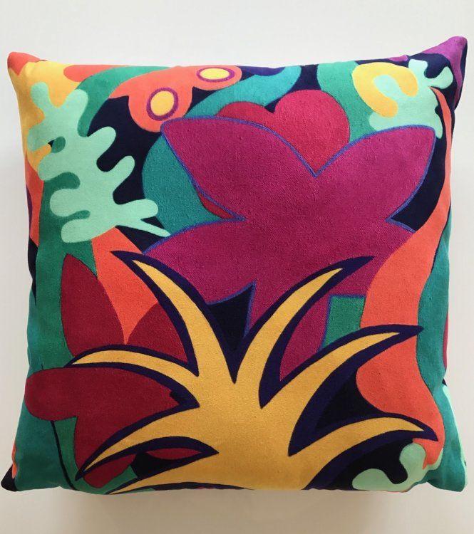 """""""Tropical Garden"""" Cushion"""