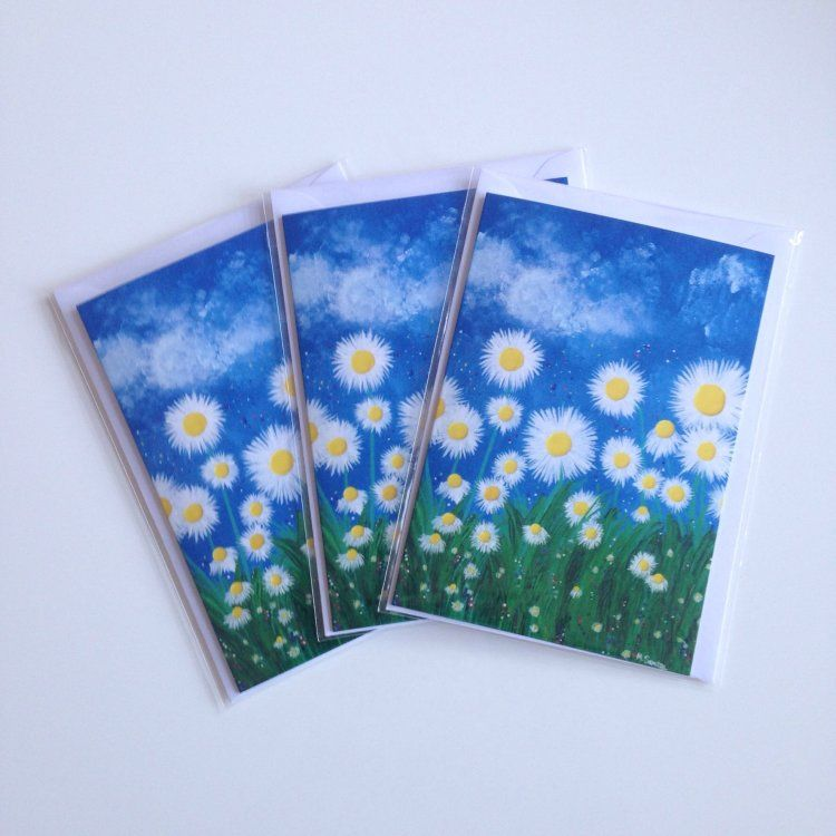 """Daisies"" Cards"