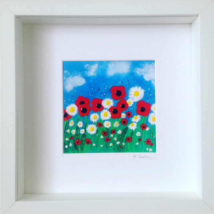 Miniature Poppies