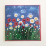 """Poppies & Daisies"" card"