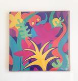 """""""Tropical Garden"""" card"""