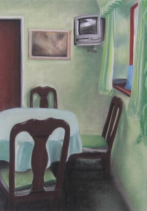 Interior 1(Green Dinning Room)