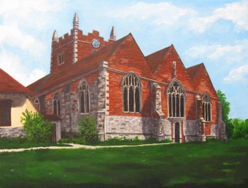 Old Basing Church