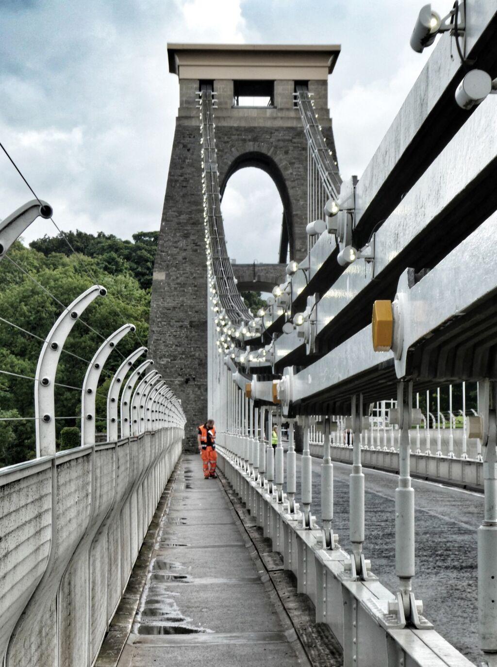 Clifton Suspension Bridge; Inspection