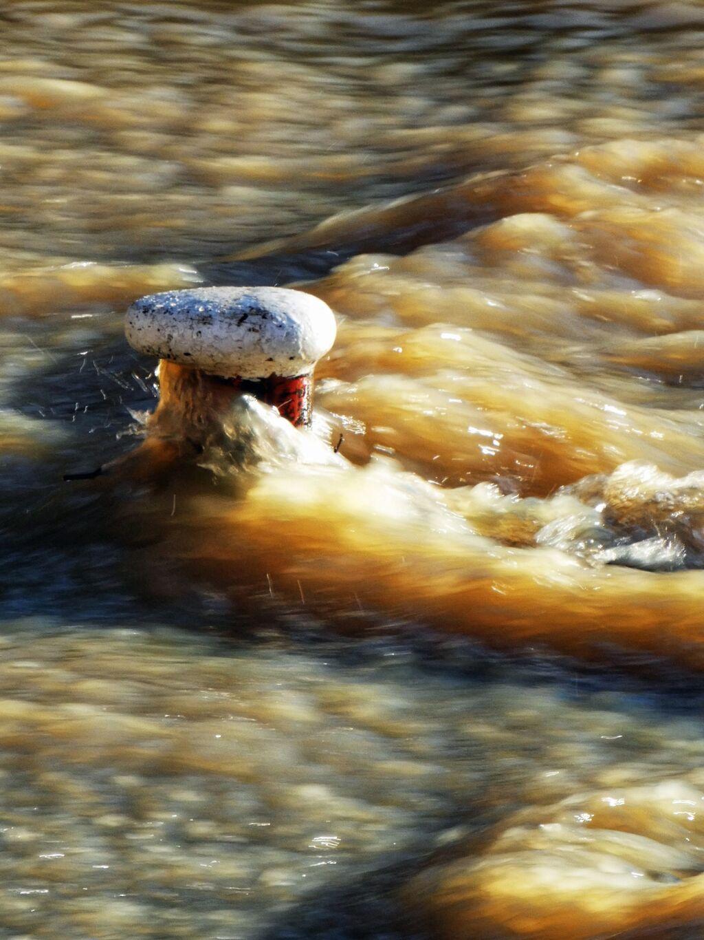 Flooded Mooring Bollard