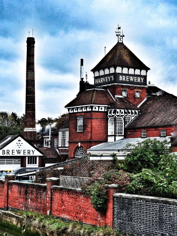 Harvey's Brewery, Bridge Wharf, Lewes