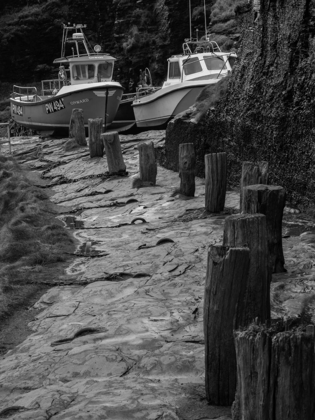 High & Dry at Boscastle