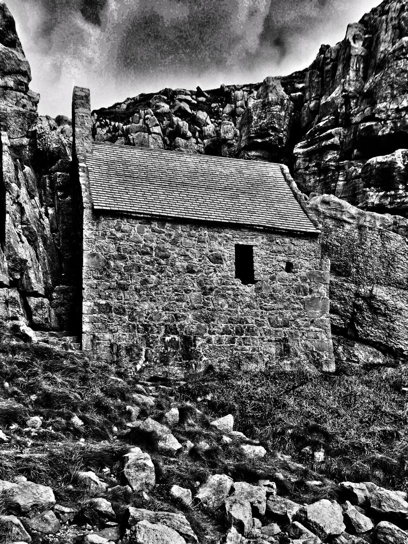 St Govan's Chapel, Snapseed Edit