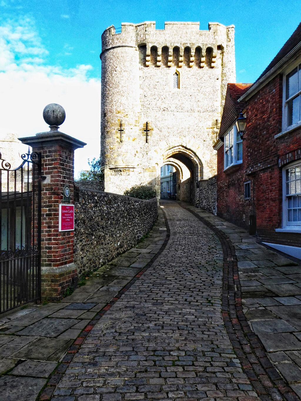 Lewes Castle Approach