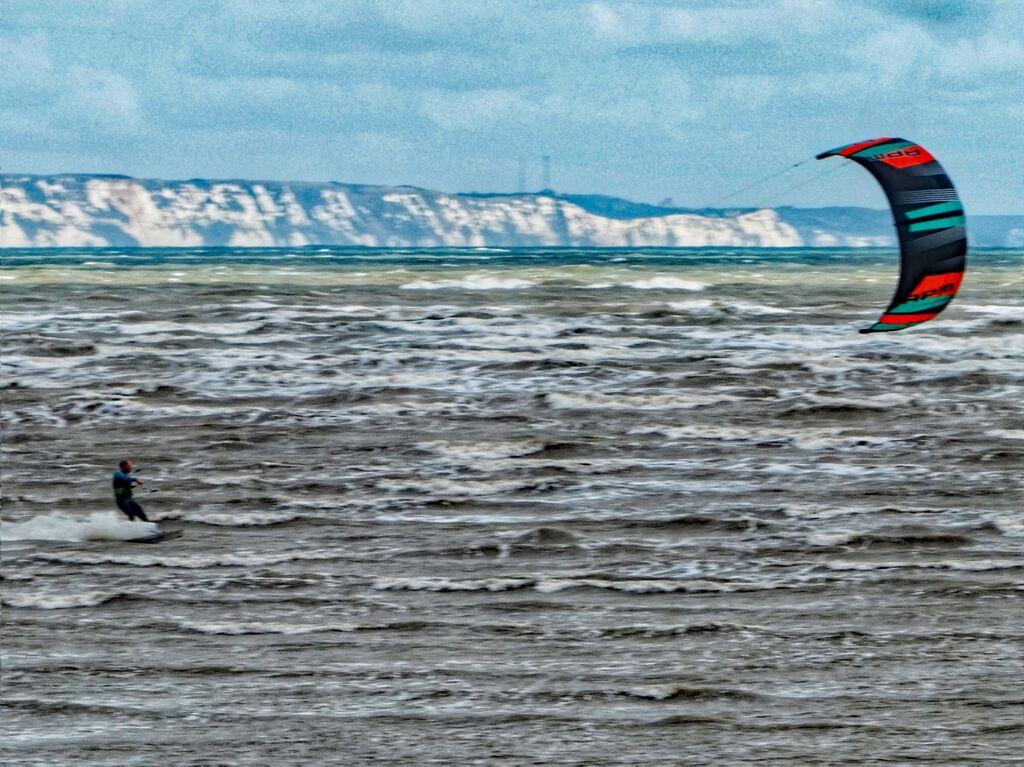 Lydd-on-Sea Kitesurfer 1