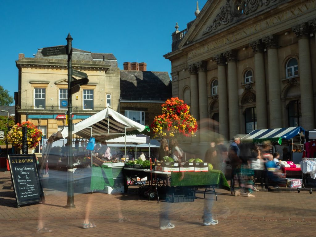 (Not so) Bustling Market Place