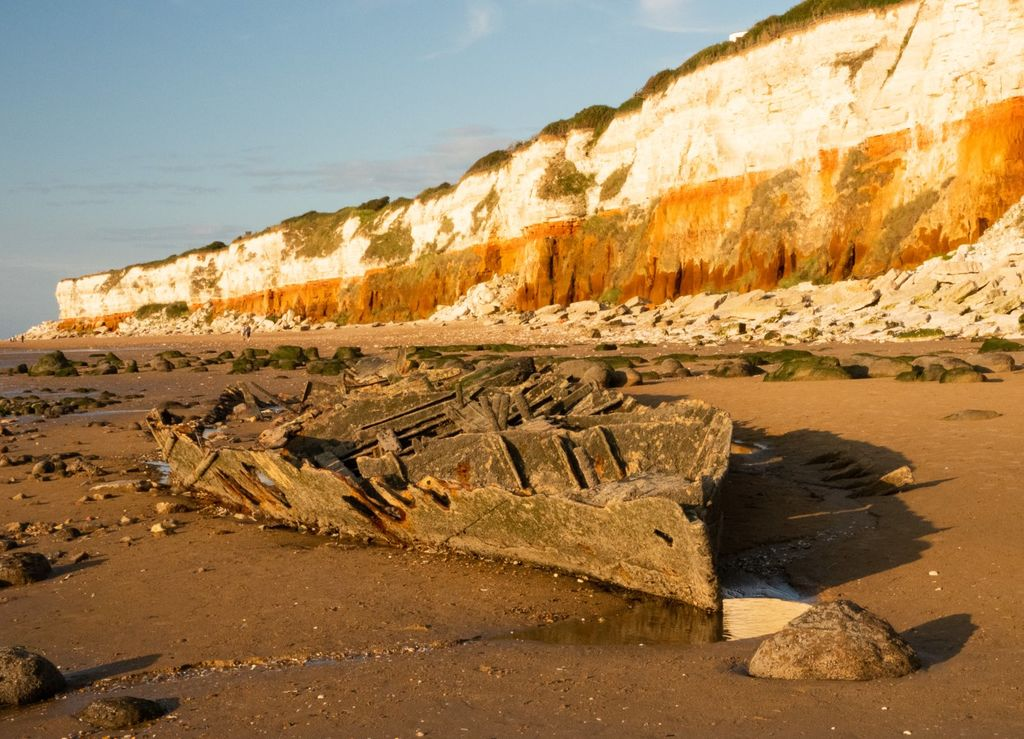 Wreck of The Sheraton, Old Hunstanton