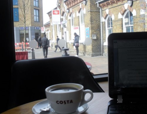 39. Costa Coffee, Walthamstow Central, E17