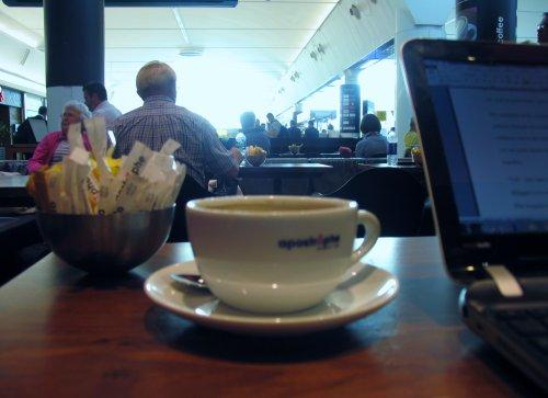 45. Apostrophe, Gatwick Airport