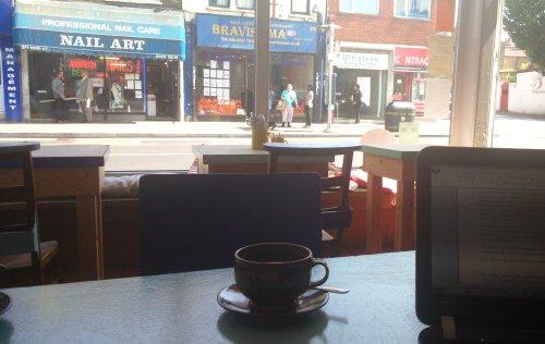 53. The Hornbeam Cafe', Hoe St, E17