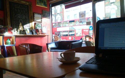 57. Art Cafe, Hoe St, E17